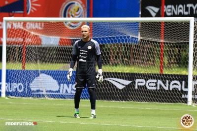 Keylor Navas se incorporó a la selección nacional