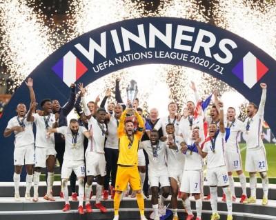 Francia monarca de la UEFA Nations League 2021