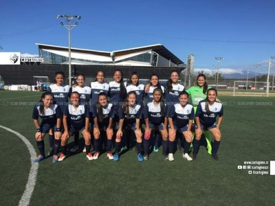 Cartaginés femenino ya tiene grupo en segunda división