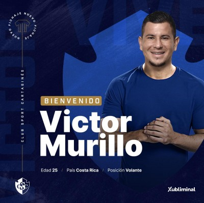 Numeros de Víctor Murillo fichaje brumoso