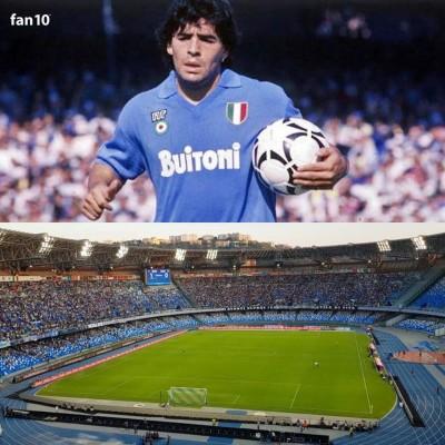 Napoli cambiará el nombre de su estadio