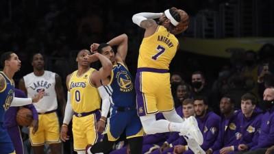 Los Lakers cae ante los Guerreros del Golden State