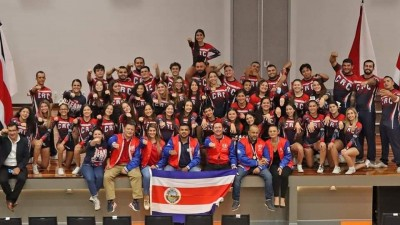 Selección de Porrismo costarricense hace historia con su primera medal...