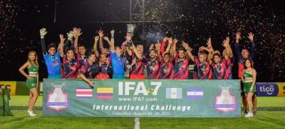 Sele de Fútbol 7 cerró con broche de oro el Desafío Internacional