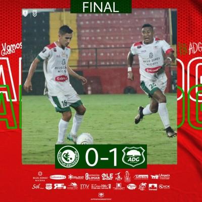 Guanacasteca y Golfito golpean primero en semifinales del Ascenso
