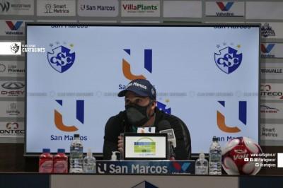 Marco Madrigal: *Tenemos equipo para estar arriba entre los 4*