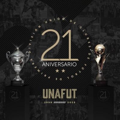 UNAFUT cumplirá 21 años de dirigir el campeonato