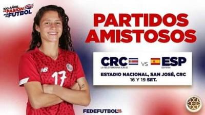 Selección Nacional de Costa Rica Sub 20 con fogueos de lujo