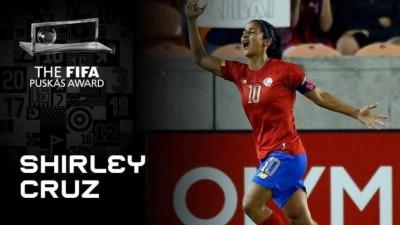 Shirley Cruz nominada al premio Puskas 2020