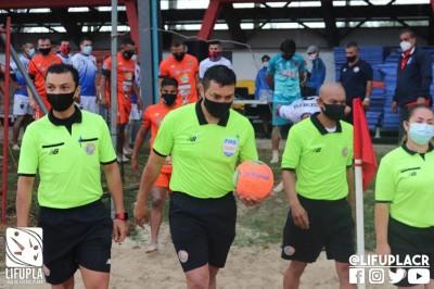 Árbitros costarricenses sueñan con asistir a Mundial de Fútbol Playa