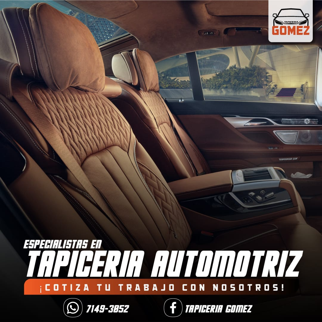 Tapicería Automotriz Gómez 7149-3052