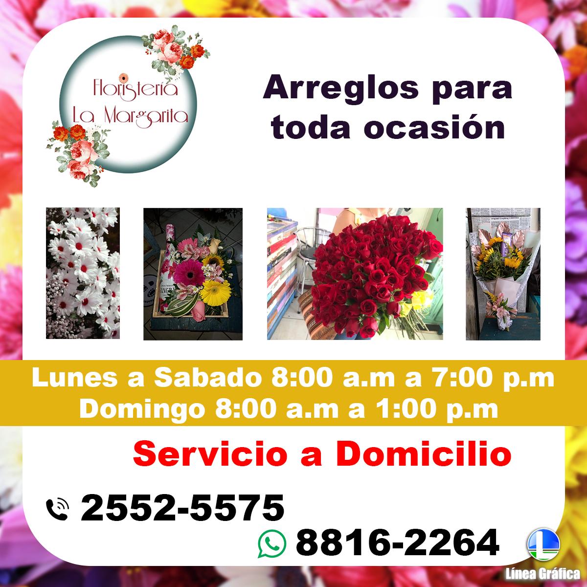 Floristería La Margarita 2552-5575