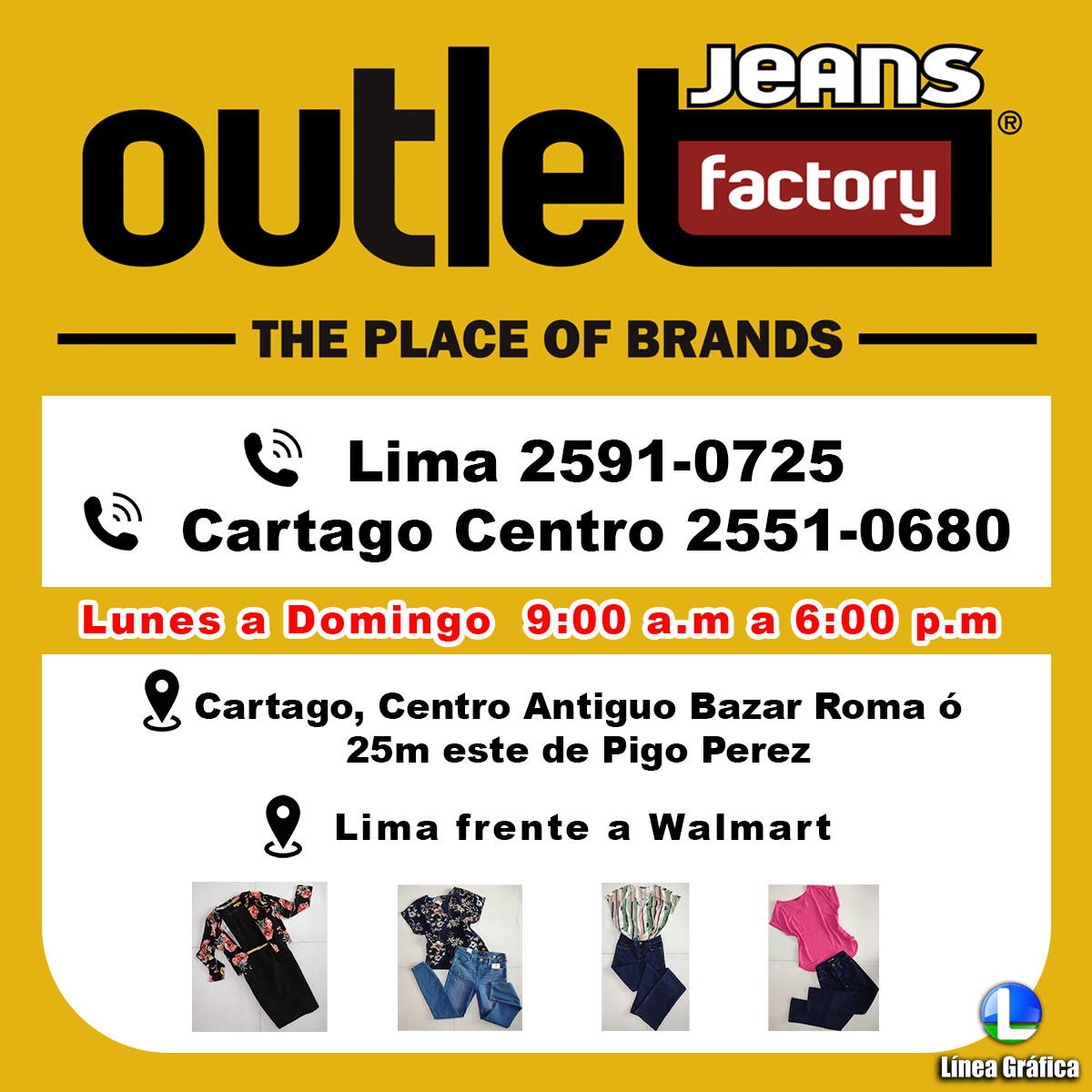 Outlet Jeans Factory 25510680