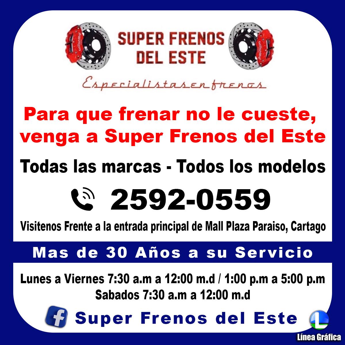 Super Frenos del Este 25920669